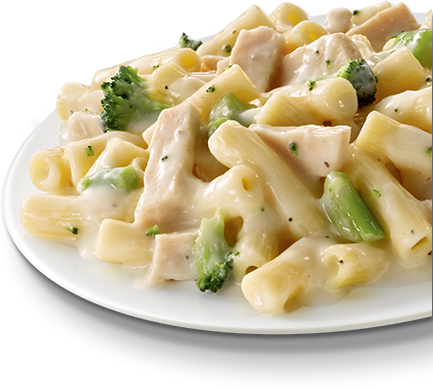 Creamy Rigatoni with Broccoli & Chicken