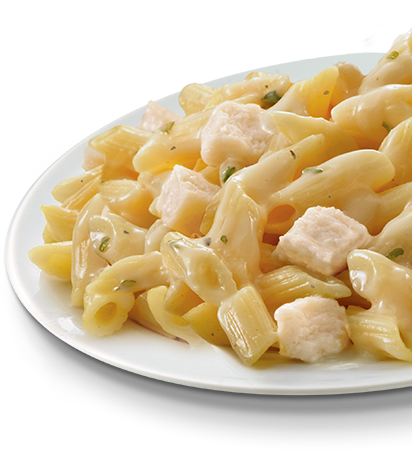 Penne with White Chicken