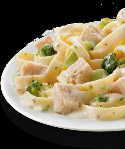 Fettuccine Alfredo with Chicken & Broccoli