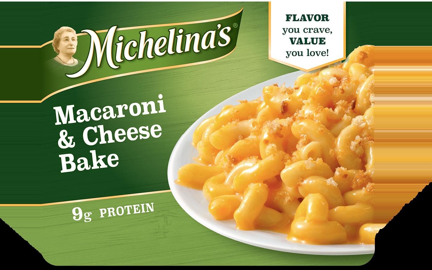 Macaroni & Cheese Bake - Michelina's Frozen Entrees