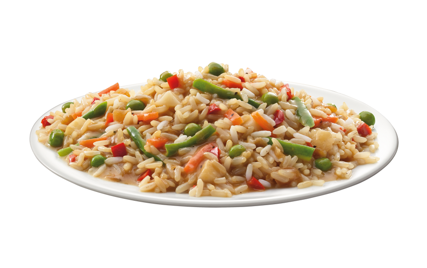 Stir Fry Rice and Vegetables