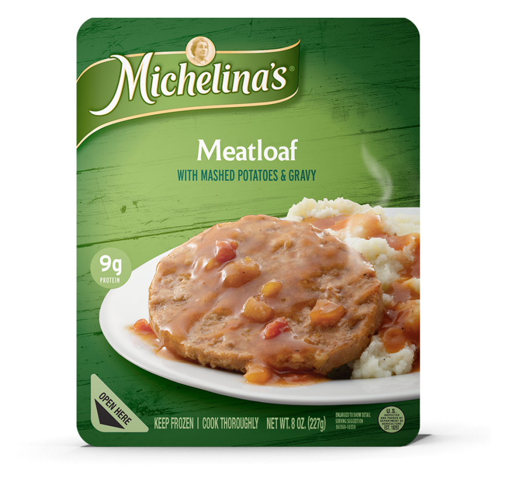 Meatloaf - Michelina's Frozen Entrees
