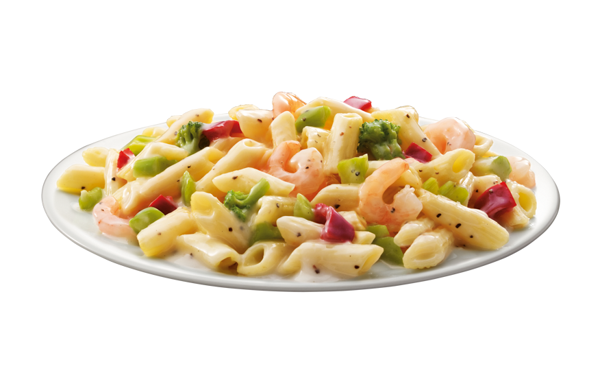 Shrimp with Pasta & Vegetables