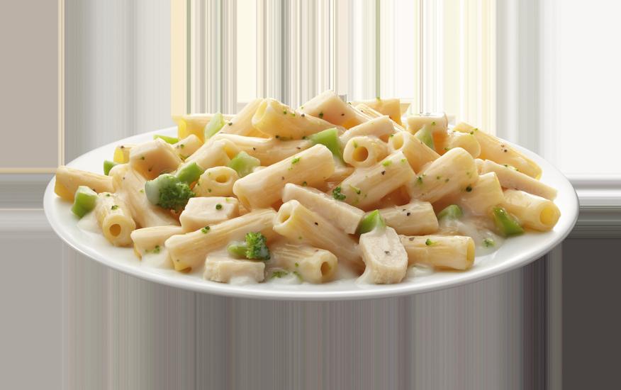 Creamy Rigatoni with Broccoli & Chicken